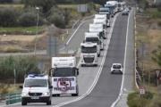 Las protestas de los transportistas en Cataluña se repiten el 31 de octubre
