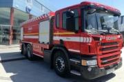 El Parque de Bomberos de Iurreta aumenta su flota con un camión Scania