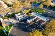 Total inaugura la gasinera más grande de Francia y la estación de recarga de Biogás