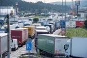 Miles de camiones paralizados en la Jonquera durante más de 24 consecutivas