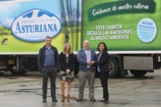 Iveco entrega cinco camiones de gas natural a Central Lechera Asturiana