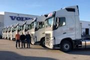 Transaez incorpora 12 camiones Volvo a su flota