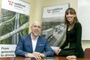Entrevista con Heike de la Horra y Alicia Viernes, director de Ventas y directora de Marketing de Webfleet