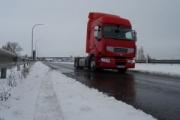 Autopistas activa un dispositivo de seguridad vial ante el riesgo de nevadas