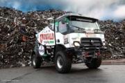 El equipo MKR Technology participa en el Dakar con un nuevo camión híbrido