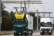 Alemania inaugura su primera autopista eléctrica para camiones