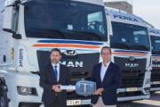 Grupo Perea adquiere 100 camiones MAN TGX