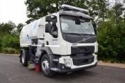 IFAT 2018 muestra la primera barredora hidrostática Volvo con transmisión automática Allison