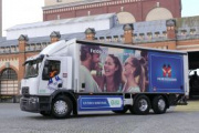 Renault Trucks entrega al Grupo Carlsberg un D Wide Z.E. eléctrico