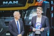 MAN recibe el premio a la innovación de la IAA de Vehículos Industriales 2018