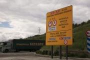 El transporte navarro explica por qué se opone a la prohibición de que los camiones circulen por la N-121 hacia la frontera