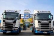 Disfrimur amplía su flota con camiones Scania propulsados por GNL