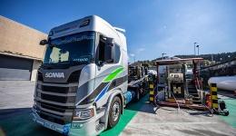 Transordizia adquiere cuatro camiones Scania GNL