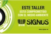 SIGNUS distinguirá a los talleres comprometidos con el medioambiente