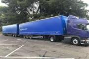 GEFCO prueba su primer duotrailer en carretera