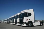 Scania entrega 17 camiones a José Hernández Quijada