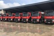 Hormigones Castrejón adquiere siete Renault Trucks T 460