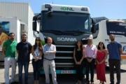 Gasnam visita las instalaciones de Scania