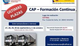 Nuevo curso CAP de CEFTRAL