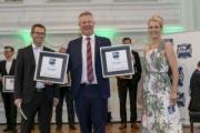 Schmitz Cargobull recoge el galardón a la mejor marca en los premios imagen
