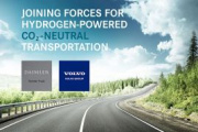 Alianza Volvo-Daimler para producir pilas de combustible