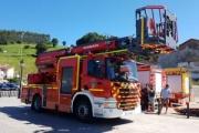 El Gobierno de Cantabria adquiere una auto escala con chasis Scania