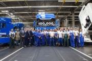 DAF fabrica el camión número 100.000 de sus generaciones CF y XF