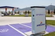 Endesa instala cargadores rápidos en áreas de servicio Andamur
