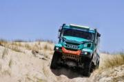 El equipo Petronas De Rooy Iveco participará con cuatro camiones Iveco en el Dakar