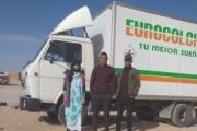 MAN Comatra dona un camión solidario para los niños del Sáhara