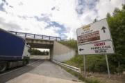 Ayuntamientos de Navarra convocan el corte en la N-121-A el 28 de febrero para pedir el desvío de camiones