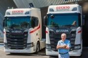 Transportes Cordero adquiere dos camiones V8 de Scania