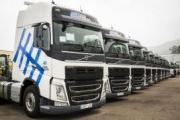 La flota de Transcodegasa se amplía con 10 camiones Volvo FH