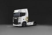 Scania lanza una edición limitada del V8 para celebrar su 50 aniversario