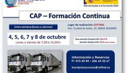 Curso CAP de formación continua de CEFTRAL