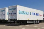 Balearia y Fred Olsen adquieren 74 portacontenedores Lecitrailer