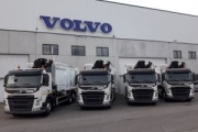 Volvo Trucks entrega cuatro camiones a Vareser