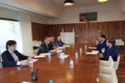 El transporte de Castilla-La Mancha se reúne por primera vez con el nuevo consejero de Fomento, Ignacio Hernando