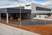 Comienza a funcionar la nueva estación logística de Amazon en Constantí