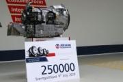 Allison celebra la fabricación de su transmisión automática número 250.000