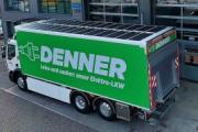 Un Renault Trucks D Wide Z.E. con paneles fotovoltaicos