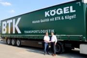 BTK Logistik adquiere 50 semirremolques Kögel Lightplus