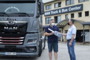 Llega a España el primer MAN TGX Individual Lion S