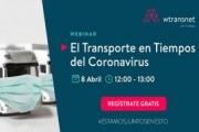 Wtransnet ofrece un webinar gratuito sobre el transporte en tiempos de coronavirus