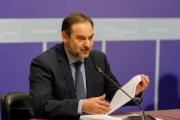 """Ábalos: """"el Gobierno mantiene su compromiso con el Corredor Cantábrico-Mediterráneo"""""""