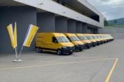 El servicio postal suizo adquiere once MAN eTGE