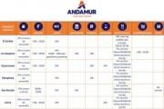 Andamur pone en marcha un plan de contingencia para ayudar a los transportistas