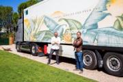 Presentado el camión cuya pintura absorbe CO2