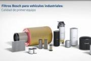 Filtros Bosch para vehículos industriales, alta fiabilidad en la carretera
