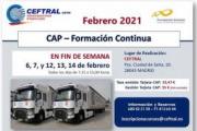 Nuevo curso CAP impartido por CEFTRAL
